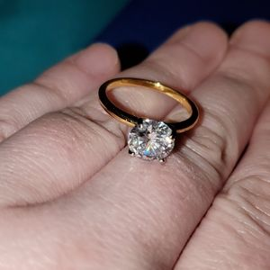 Cubic Solitaire Engagement Ring- Tiffany &Co. *Ins